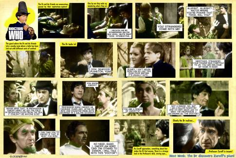 Dr Who Underwater Menace TV Comic 2