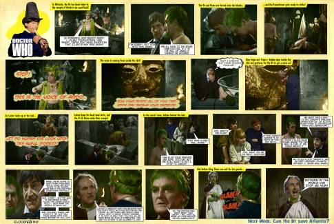 Dr Who Underwater Menace TV Comic 5
