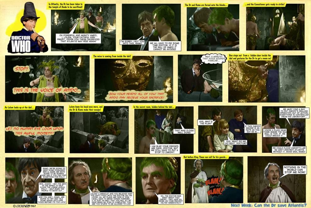 Dr Who Underwater Menace TV Comic 5