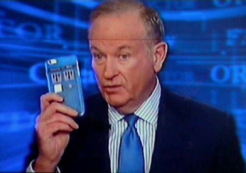 Bill O'Reilly Fox News Dr Who Tardis Phone 1