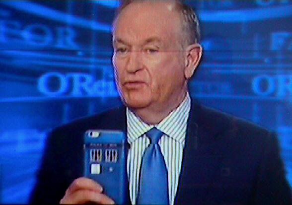 Bill O'Reilly Fox News Dr Who Tardis Phone 2