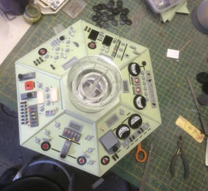 mooncrest models tardis console 3