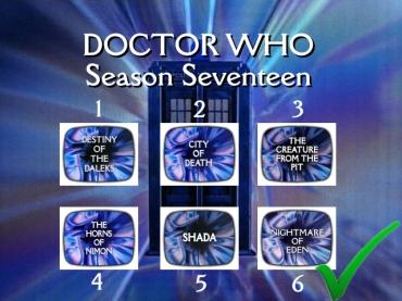 doctor who season seventeen correct order