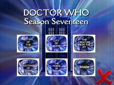 doctor who season seventeen wrong order
