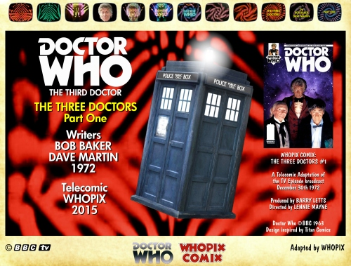 doctor who three doctors comic strip 1.00
