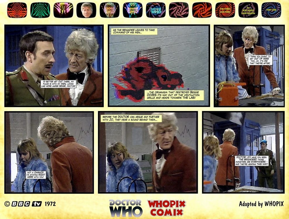 doctor who three doctors comic strip 1.04