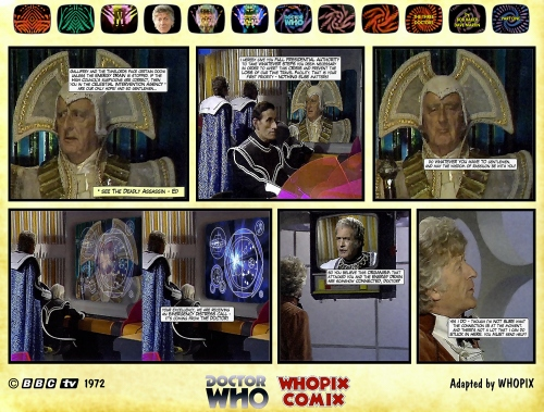 doctor who three doctors comic strip 1.07
