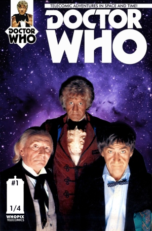 doctor who titan comics three doctors telecomic