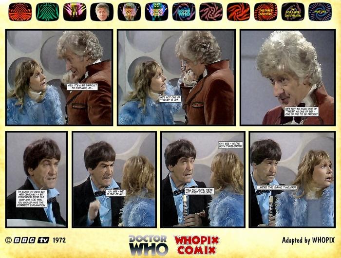 doctor who three doctors comic strip 1.11