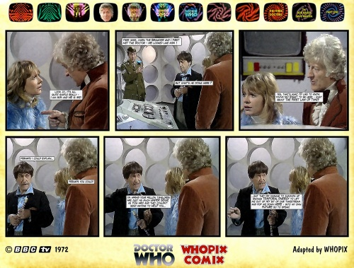 doctor who three doctors comic strip 1.12