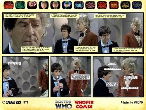 doctor who three doctors comic strip 1.14