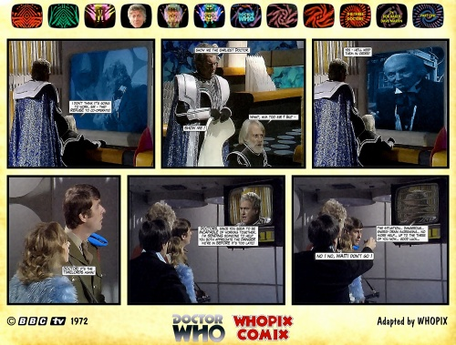 doctor who three doctors comic strip 1.15