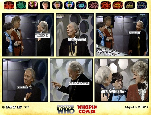 doctor who three doctors comic strip 1.17