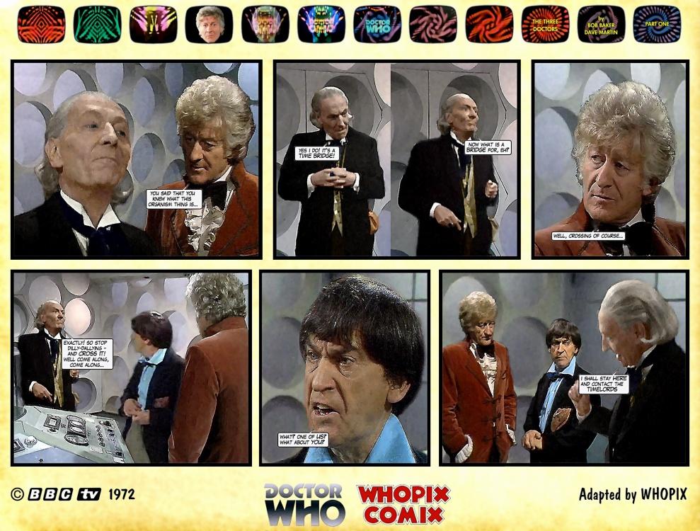 doctor who three doctors comic strip 1.18