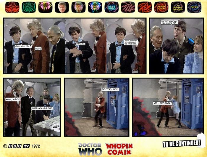 doctor who three doctors comic strip 1.19