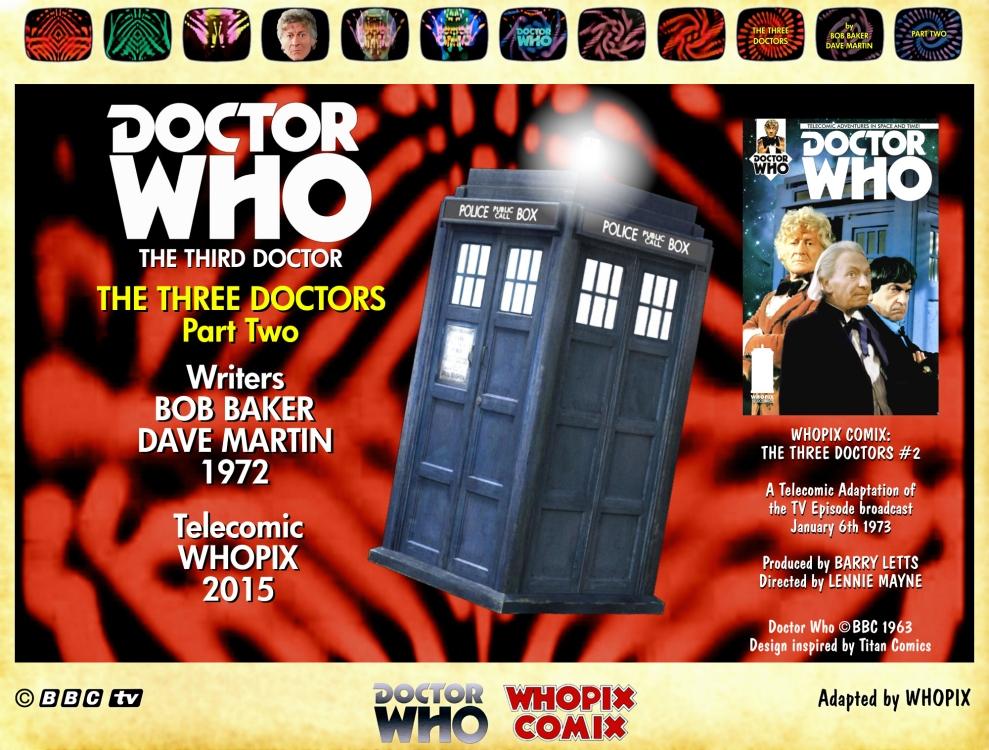 doctor who three doctors comic strip 2.00