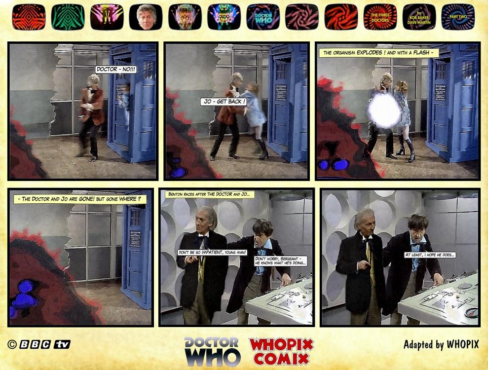 doctor who three doctors comic strip 2.01