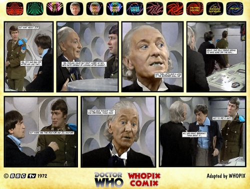 doctor who three doctors comic strip 2.02