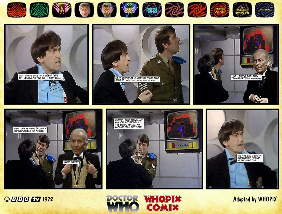 doctor who three doctors comic strip 2.03