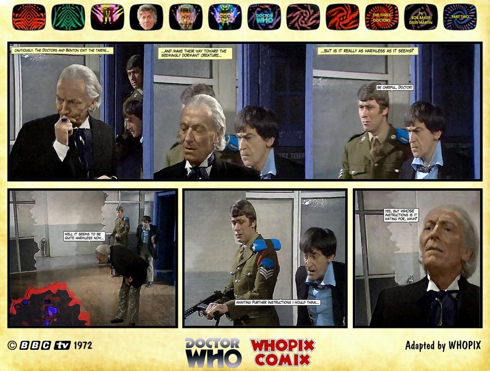 doctor who three doctors comic strip 2.04