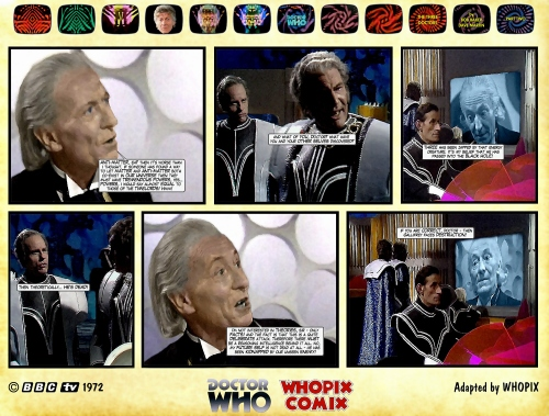 doctor who three doctors comic strip 2.08