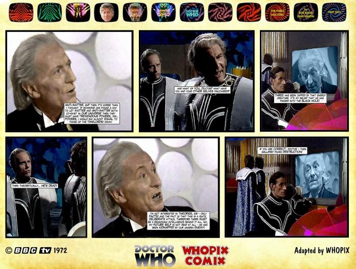 doctor who three doctors comic strip 2.08