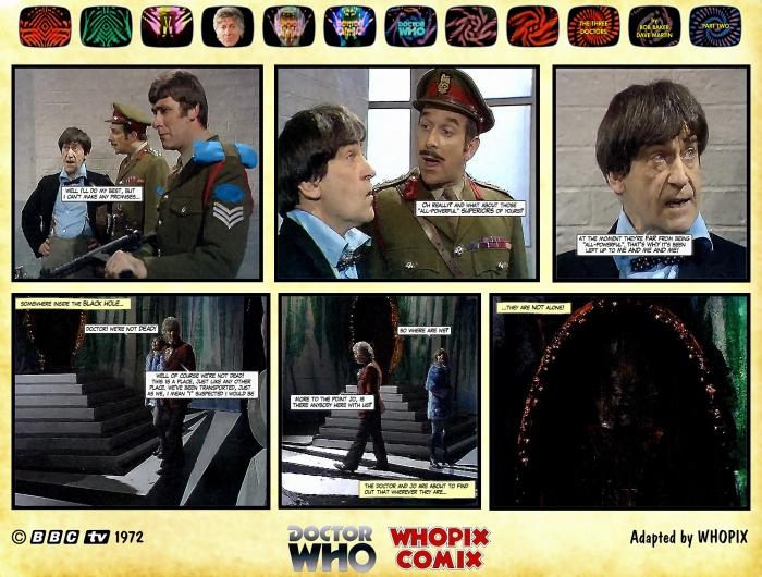 doctor who three doctors comic strip 2.11
