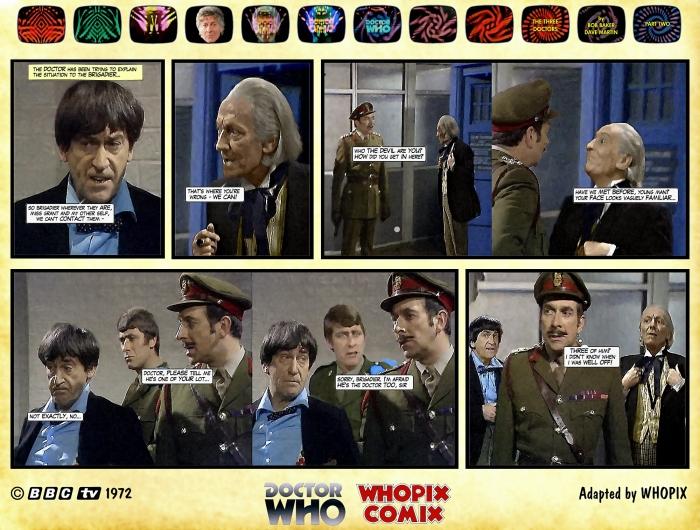 doctor who three doctors comic strip 2.12
