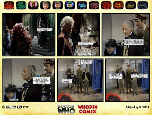 doctor who three doctors comic strip 2.14