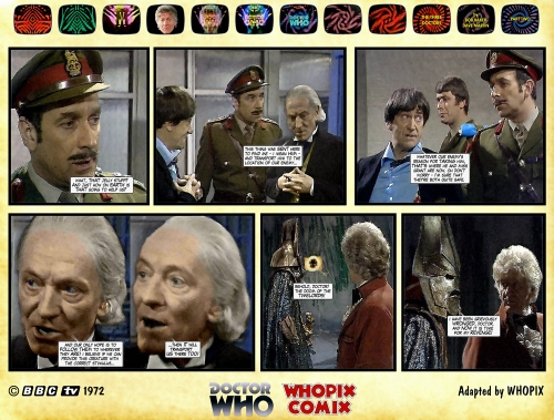 doctor who three doctors comic strip 2.15