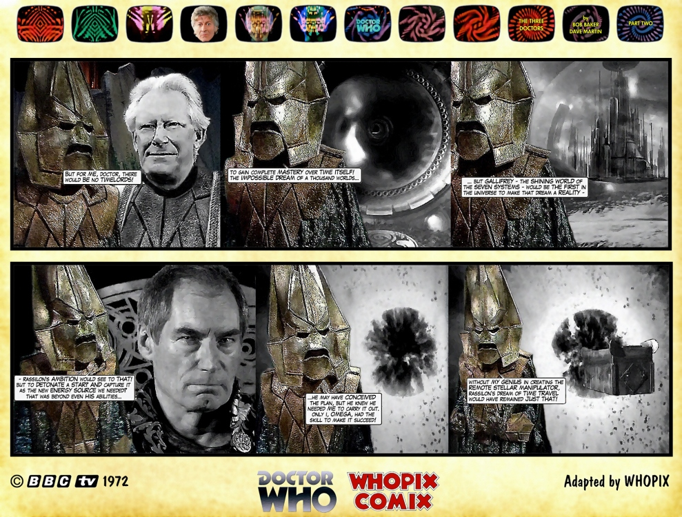 doctor who three doctors comic strip 2.16