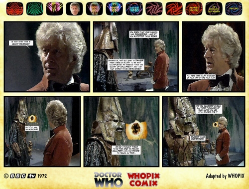 doctor who three doctors comic strip 2.17