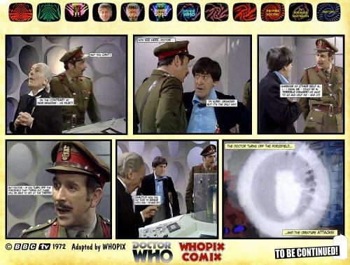 doctor who three doctors comic strip 2.21