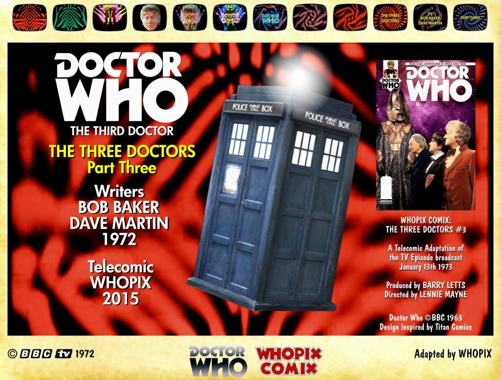doctor who three doctors comic strip 3.00