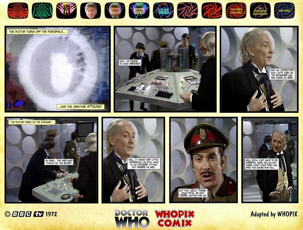 doctor who three doctors comic strip 3.01
