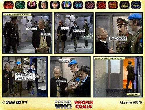 doctor who three doctors comic strip 3.02