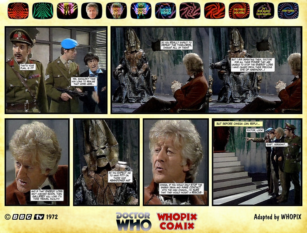 doctor who three doctors comic strip 3.04
