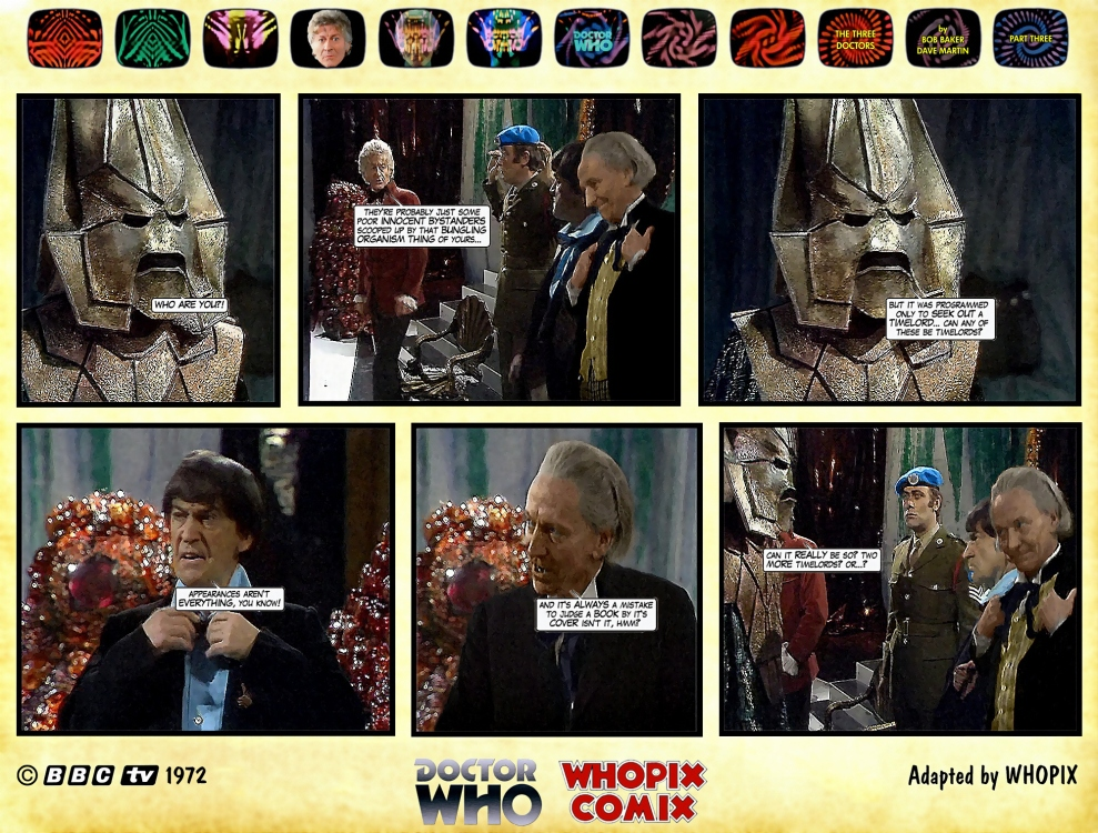 doctor who three doctors comic strip 3.05