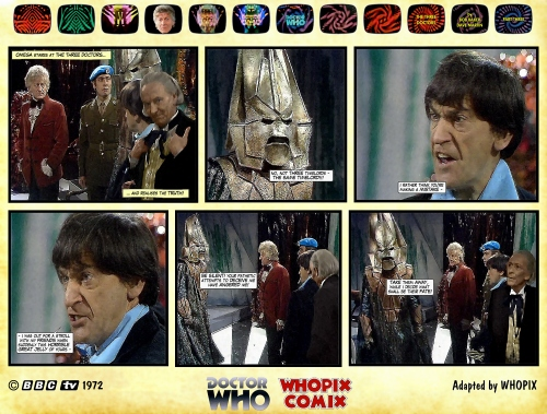 doctor who three doctors comic strip 3.06