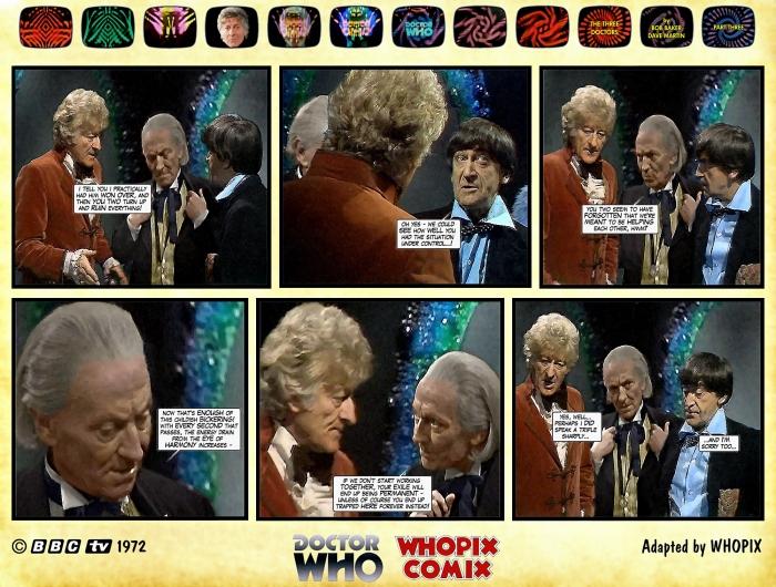 doctor who three doctors comic strip 3.07