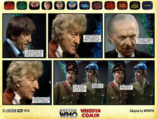 doctor who three doctors comic strip 3.10