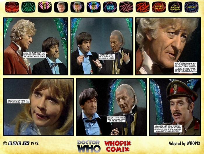 doctor who three doctors comic strip 3.12