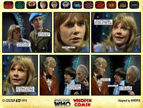 doctor who three doctors comic strip 3.13
