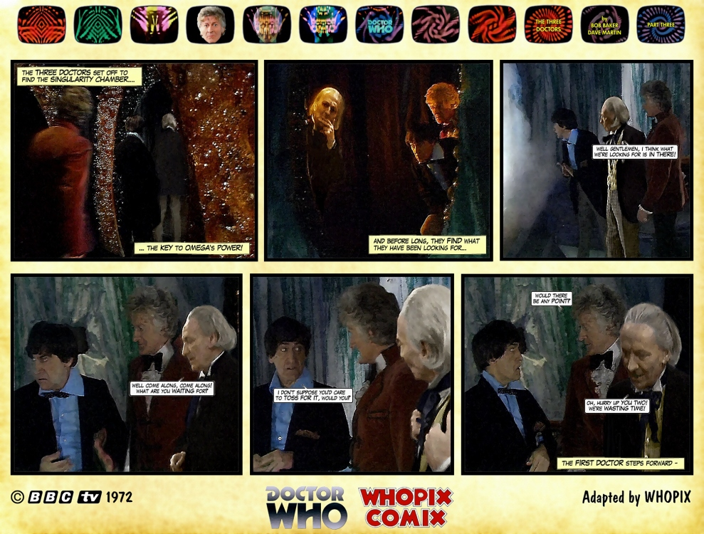 doctor who three doctors comic strip 3.15