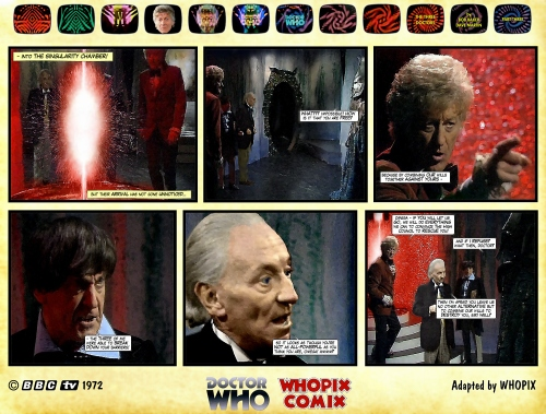 doctor who three doctors comic strip 3.16