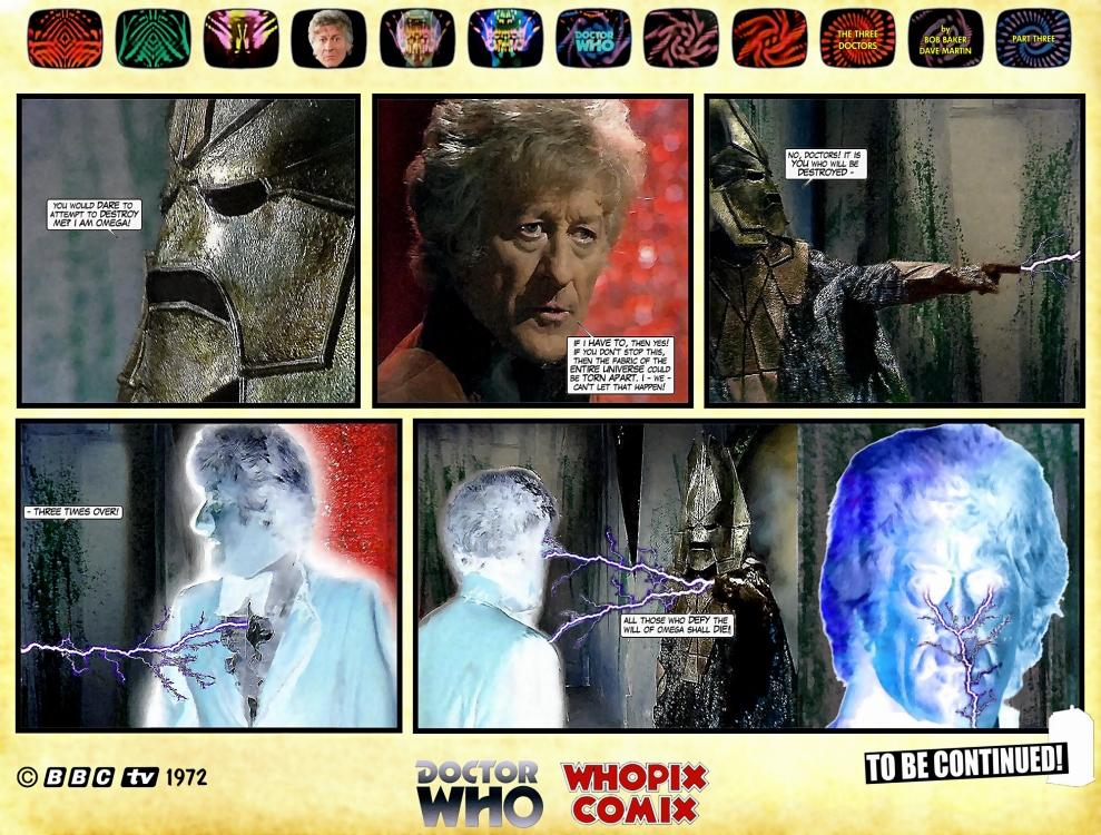 doctor who three doctors comic strip 3.17