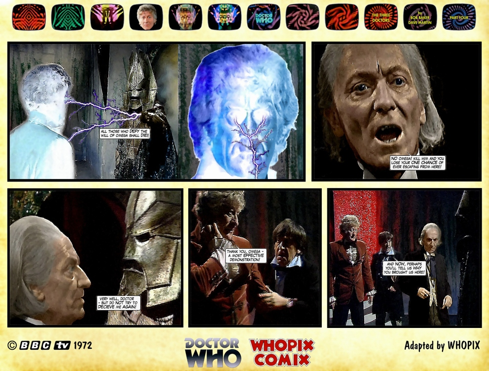 doctor who three doctors comic strip 4.01