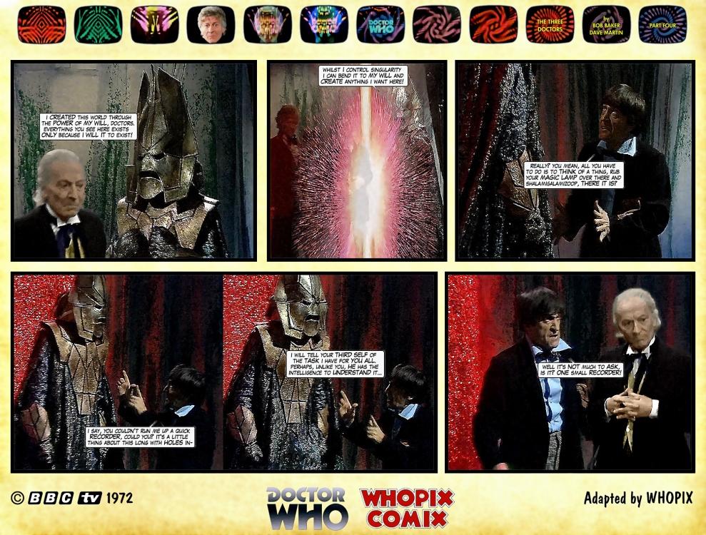 doctor who three doctors comic strip 4.02