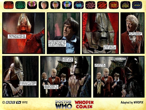 doctor who three doctors comic strip 4.04
