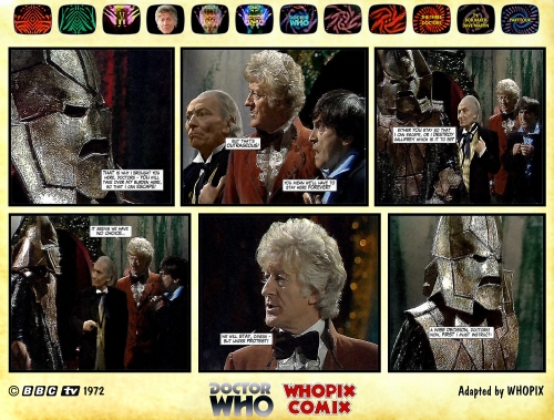 doctor who three doctors comic strip 4.05